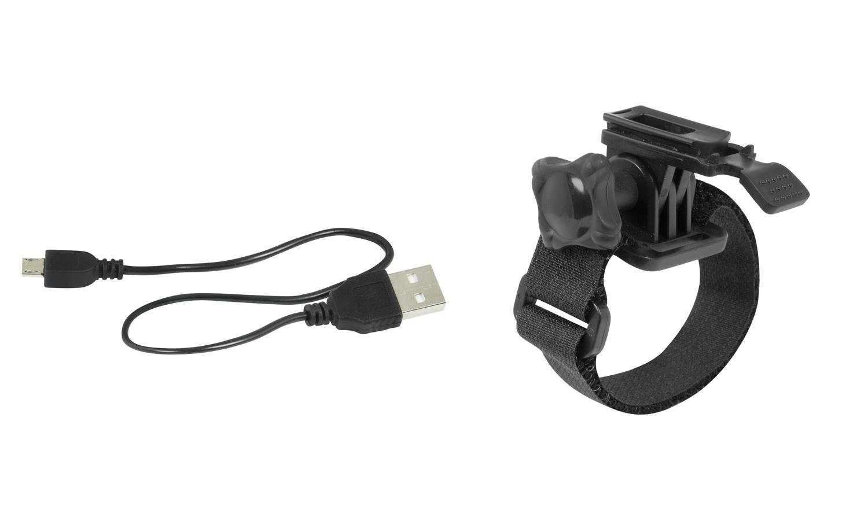 Frontleuchte FORCE CASS 300lm USB schwarz