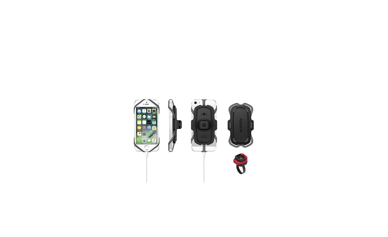 KlickFix PhonePad Quad Mini Fahrrad Smartphone Halterung
