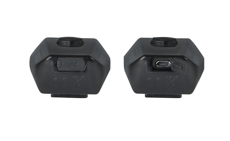 Frontleuchte FORCE BUG 400LM USB schwarz